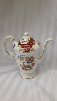Antique Paragon Rockingham Pattern Teapot / Coffee Pot