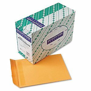 Redi Seal Catalog Envelope, 9 1/2 x 12 1/2, Brown Kraft, 250/Box