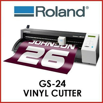 VINYL CUTTER ROLAND- Roland CAMM-1 GS-24S - INCLUDING STAND - PROTECH CNC