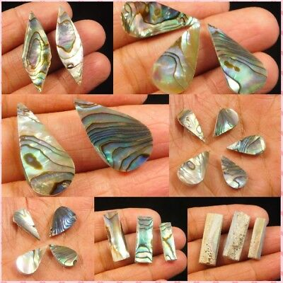 100 % Natural Abalone Shell Lot Loose Cabochon Gemstone ANG4360-4452