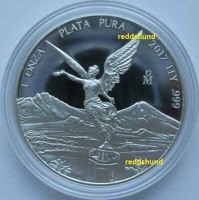 Libertad  1 Oz Silber  Proof  2017  Mexico  PP