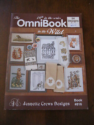 The OmniBook in the Wild:Jeanette Crews Designs: Book #816:Cross Stitch:Preloved