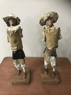 Vtg Handmade Old Man Sculptures (ONE OF A KIND) Very Unique!!!