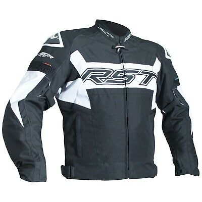 RST Tractech 2048 Evo-R Textile Waterproof Jacket-Motorcycle Bike CE Armoured