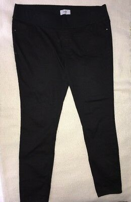 New Look Maternity Black Jegging Size 18