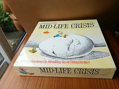 Mid-life Mid life Midlife Crisis 1982 The Game Works Inc. Factory Sealed!