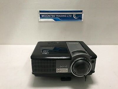 BenQ MP522 ST DLP LCD PROJECTOR USED 709 LAMP HOURS SPOTTY PIXEL - REF 1371