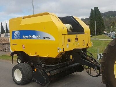 New Holland BR7060 CropCutter 2 Variable Chanmber Round Baler