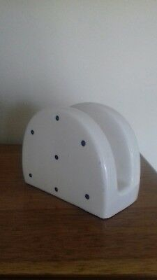 Laura Ashley Bibi Earthernwear Napkin Holder