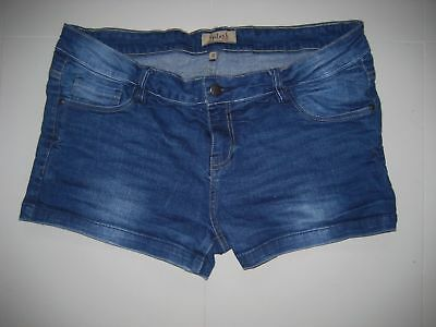 Denim mini shorts size girl teen 13 - 14 Years  waist 90 cm