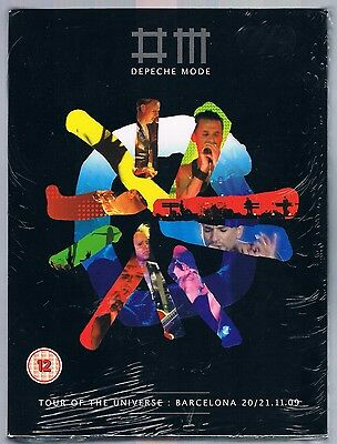 Depeche Mode Tour Of The Universe Barcelona 2 Dvd + 2 Cd F.c. Sealed