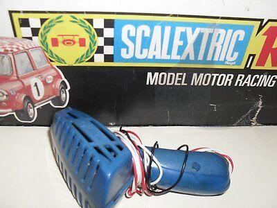 scalextric vintage c265 slotcar handcontrol blue working