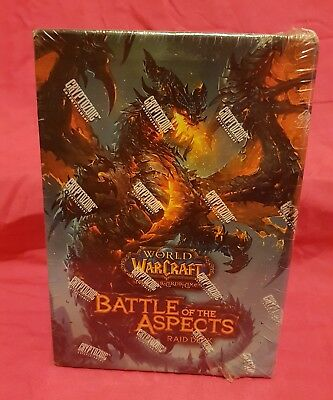 World Of Warcraft Battle Of The Aspects Raid Deck Sealed Aus Seller