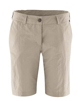 Maier Sports Damenshort Nidda - Damen Wander- Outdoorhose - father gray - 230004