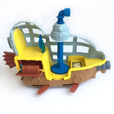 Jake and the Neverland Pirates SUBMARINE Bucky's Never Sea Adventure DISNEY