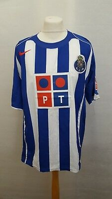 Fc Porto Portugal 2004/2005 Home Football Shirt Jersey Camiseta Nike Size Xl