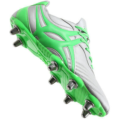 Clearance New Gilbert Sidestep XV Low Cut Chrome Rugby Boot Size 8