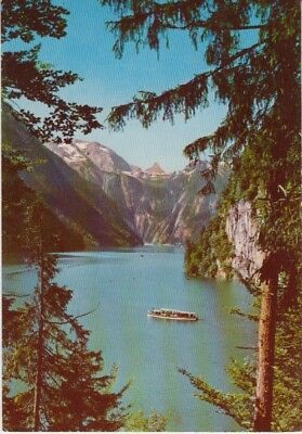 Germany (W) - Konigsee from the Painter's Corner (Post Card) 1960's
