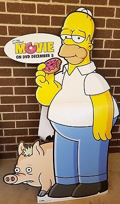 Poster. Homer. Simpsons. Cardboard cut out.Theatre Room Prop. Life Size.