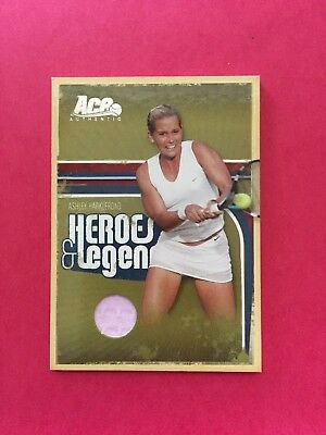 2006 Ace Authentic Heroes + Legends - Ashley Harkleroad Jersey - #34 - 041/500