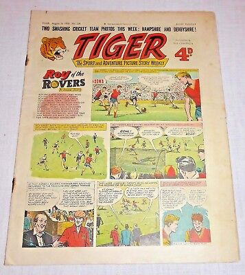 TIGER Comic August 16th 1958 No. 206 - Good condition