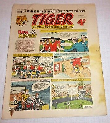 TIGER Comic August 9th 1958 No. 205 - Good condition