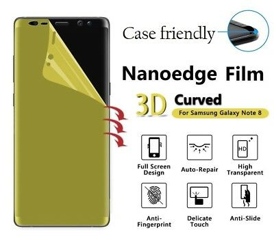 Samsung Galaxy Note 8 TPU 3D Curved Clear Film Screen Protector Premium Quality