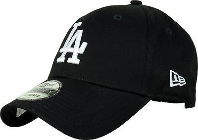 New Era 940 League Essential LA Dodgers Black Baseball Cap
