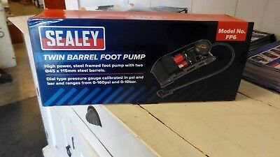 Sealey FP6 Twin Barrel Foot Pump