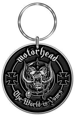 The Wörld Is Yours Motörhead Schlüsselanhänger -Official Motörhead Keyring KR088