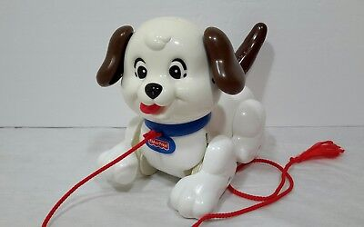 Fisher Price Pull Along Dog Lil Snoopy 2005