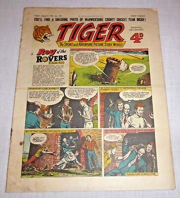 TIGER Comic August 2nd 1958 No. 204 - Good condition