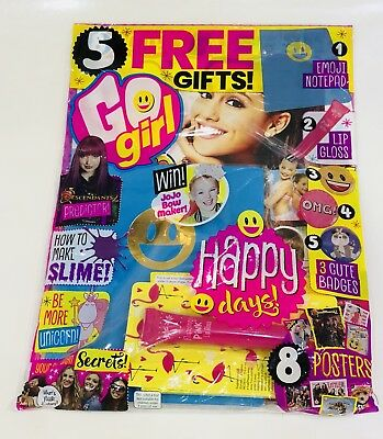 Go Girl Magazine #268 - AMAZING FREE GIFTS! (NEW)