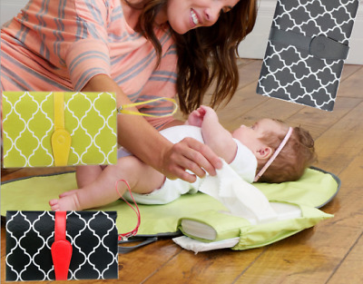 New Baby Portable Fold Diaper Clutch Travel Change Pad Waterproof Mat Storage