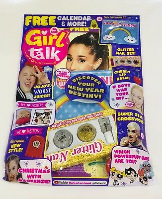Girl Talk Magazine #596 With AMAZING FREE GIFTS!! (NEW)