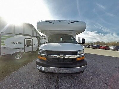 2018 Jayco Redhawk SE 22C Spacious Gas Class C Motorhome with bed slide