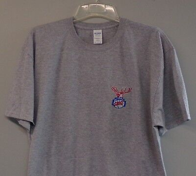 Chicago Stags NBA Basketball 1946-50 Logo Embroidered T-Shirt S-6XL, LT-4XLT New