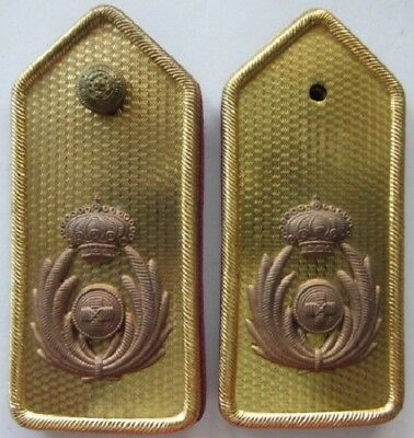 Original WWII Fascist Italian Army Shoulder Boards for the Sustenance Corps