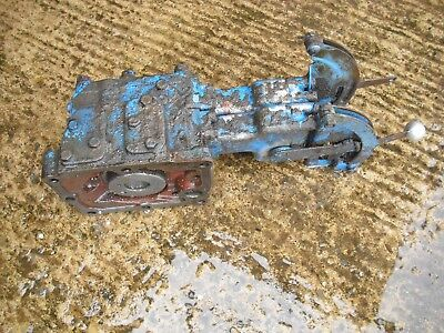 Fordson major county roadless double hydraulic spool valve