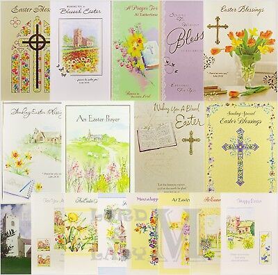 Easter Religious Themed Card - Various Designs Available
