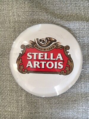 Stella Artois Medallion Badge 3 inch Beer Tap Faucet Tower Advertisement  New