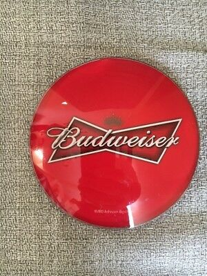 BUDWEISER Medallion Badge 3 inch Beer Tap Faucet Tower Advertisement Brand New