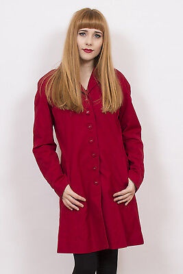 Vintage Fred Perry Red Coat 12