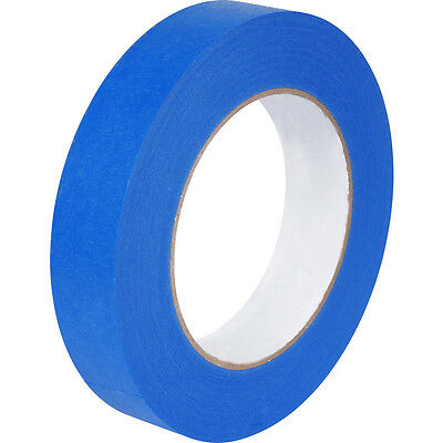 3 ROLLS  24mm X 50M UV RESISTANT BLUE MASKING ADHESIVE TAPE EASY PEEL AND TEAR