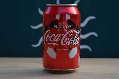Euro 2016 France Coca Cola Official England Aluminium Can Full Of Coke Brand New