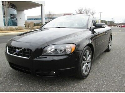 2010 Volvo C70 T5 2010 Volvo C70 T5 Convertible Low Miles Black On Black Loaded Sharp Looking Car