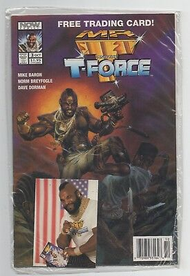 Image Comics Mr. T and the T-Force #3 Modern Age In Plastic