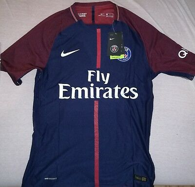Nike PSG Paris Trikot Neymar Jr / Vapor Aeroswift Authentic Gr. M