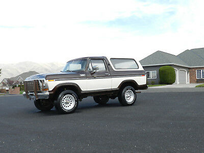 1978 Ford Bronco RANGER 1978 Ford Bronco f150 4x4 2 tone original body solid winter is here....!!