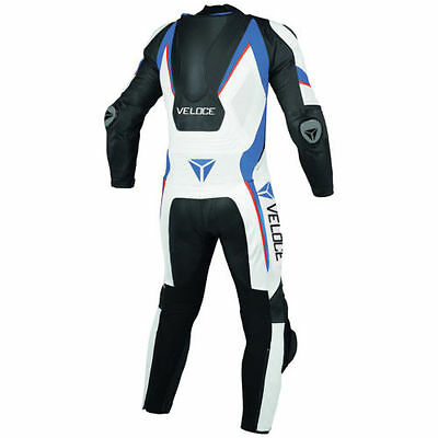 VELOCE Moto B1317 Motorbike/Motorcycle Racing Leather Suit -One Piece Suit